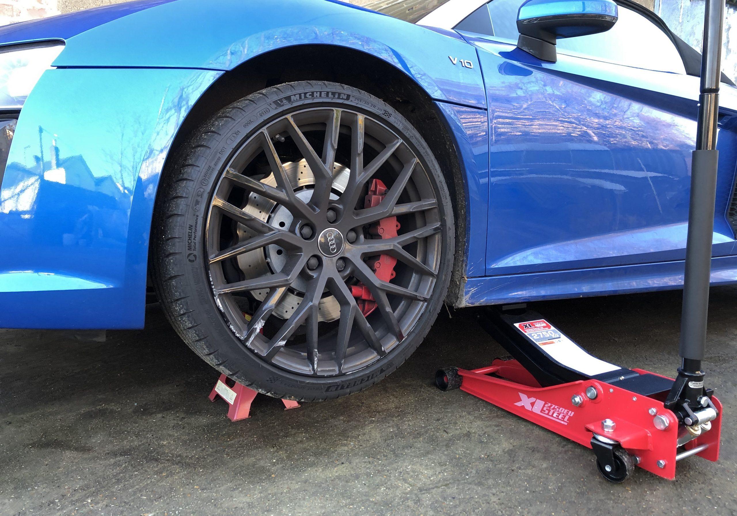 curbed alloys on an r8